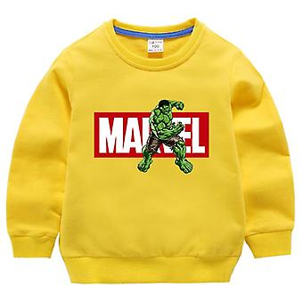 Cartoon Printed, Long Sleeve Sweatshirts, Autumn Fashion For Baby/girls