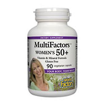 גורמים טבעיים רב-גורמיים, נשים 50+ 90 Vcaps