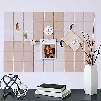 Nordic Style Felt Background Letter-board, Photo Wall/message Ménage