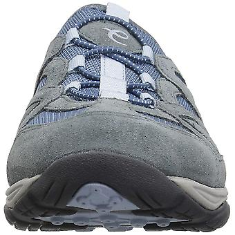 Easy Spirit Womens Explorie Fabric Low Top Pull On Running Sneaker