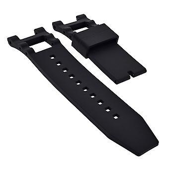 Strapsco silikongummi klockarmband för invicta subaqua noma 3