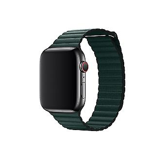 Apple Watch 42/44MM Strap Green - Artificial Leather