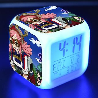 Colorful Multifunctional LED Children's Alarm Clock -Boku no Hero Academia #20
