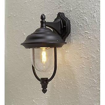 Konstsmide Parma 7222-750 Outdoor wall light Energy-saving bulb, LED (monochrome) E-27 75 W Black