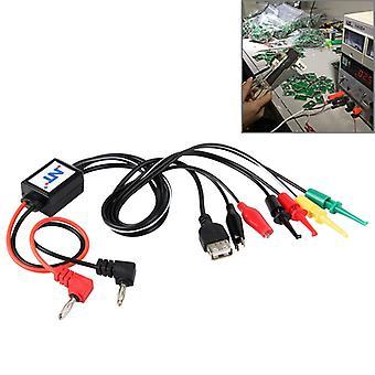 USB出力インターフェイスケーブル付き携帯電話修理電源テストインターフェイスケーブル