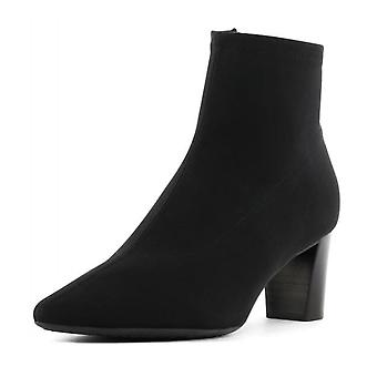 Peter Kaiser Marion-a Zip Up Stretch Ankle Boots In Black
