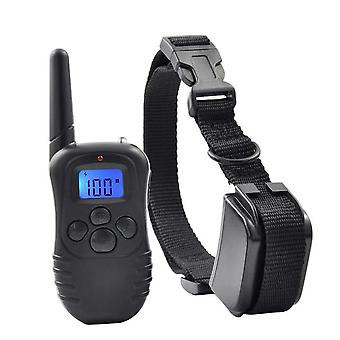 Remote Control-electric Dog Collar-rechargeable, Rainproof With Lcd Display And
