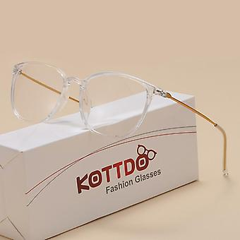 Eyeglasses, Square Plastic Spectacles, Optical Glasses, Frame Transparent