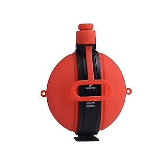 Large Capacity Folding Military Water Bottle Silicone Kettle Hiking Camping Leak Proof Outdoor Tour