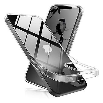 Coque Pour Iphone 12 / Iphone 12 Pro (6,1), Housse De Protection En Silicone De Haute Qualité, Transparent