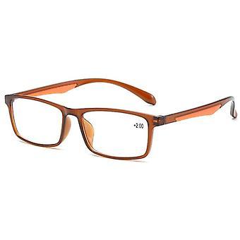 Ahora Reading Lasit Tr90, Ultralight Retro nasta kirkas linssi lukija lasit