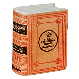 Dolls House Duży Słownik Książka Miniatura 1:12 Skala Studium Szkolne Akcesoria