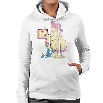 ホリーホビーガーデニング女性&アポ;sフード付きスウェットシャツ