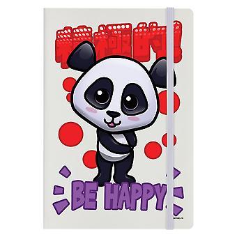 Handa Panda Be Happy A5 Notebook