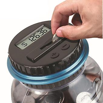 Piggy Bank - Electronic Digital Lcd Counting Coin Money Saving Box