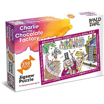 University Games Roald Dahl Charlie & the Chocolate Factory Puzzle