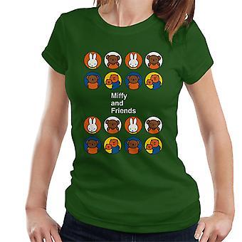 Miffy och vänner kvinnor & s T-shirt