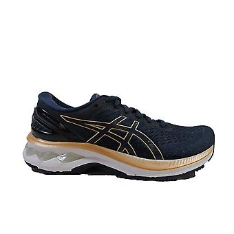 Asics Gel-Kayano 27 French Blue/Champagne Mesh Womens Lace Up Running Trainers