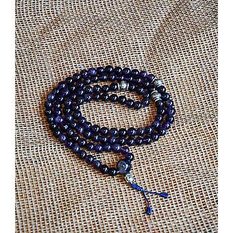 Purple Amethyst Mala Beads