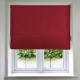 Panama red roman blinds