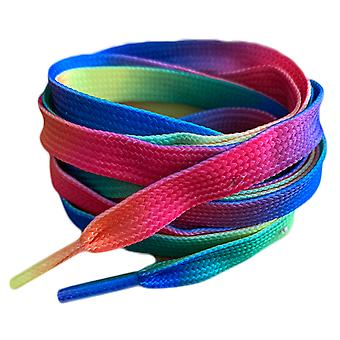 Rainbow Flat Trainer Shoelaces Laces