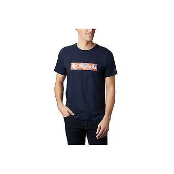 Columbia M Rapid Ridge Grafisk Tee 1888813464 universell hele året menn t-skjorte