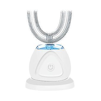 Elektrisk ultralyd tannbørste, U-formet hulrom tannbleking omsorg verktøy, voksen elektrisk tannbørste