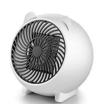 Household solid color cartoon mini hot fan