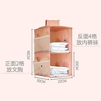 Multi-layer Wardrobe Closet, Foldable Item Storage Rack, Clothes Inner Hanger,