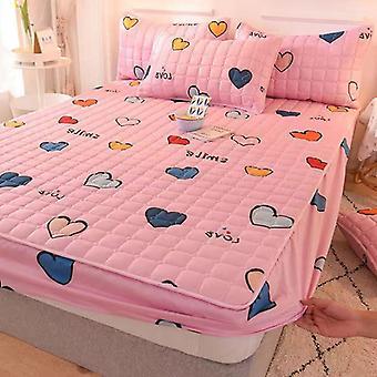 Print Bed Sheet, Pillowcase - Bedding Fitted Sheet, Bedspread Mattress Cover