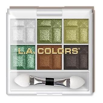 L.A. Colors Charming 6 Shadow Palette