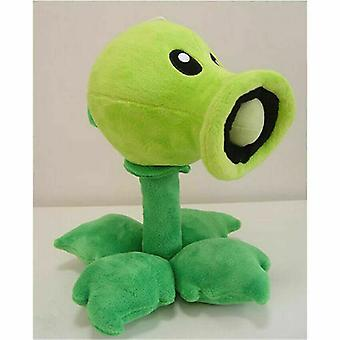 11in/28cm Plants Vs Zombies Soft Plush Doll Pea Shooter Toy Kid Xmas Gift