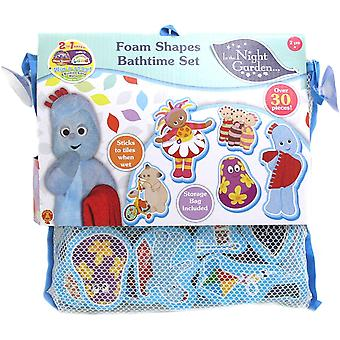 IN THE NIGHT GARDEN 1684 30 Foam Pieces Featuring Key Characters Including Igglepiggle, Upsy Daisy,