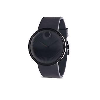 Movado rand siliconen Chronograph Mens Watch 3680146