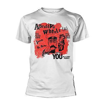 Abrasive Wheels Army Song (White) Official Tee T-Shirt Unisex