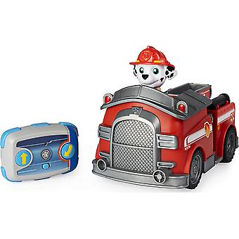 Paw Patrol Marshall Camion de pompiers à télécommande