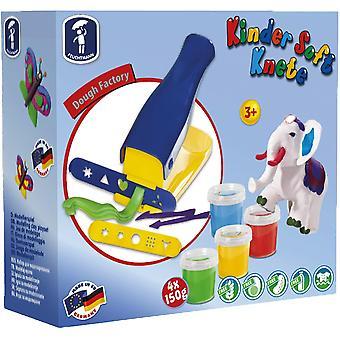 FengChun 6280543 - Kinder Soft Knete Set Knetpresse mit Zubehr, Knete, Ausstechfrmchen und
