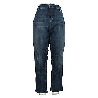 Laurie Felt Women's Petite Jeans Classic Denim Boyfriend Blue A351982