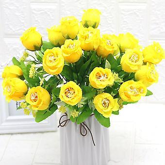 5pcs flores artificiales granada flor hotel muebles de flores secas flor falsa flor
