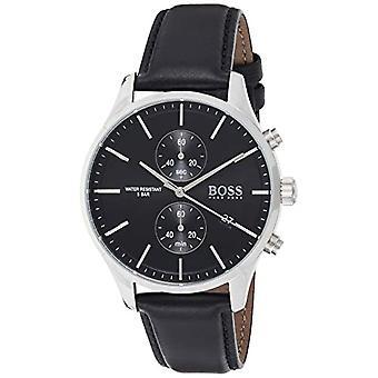 שעון הוגו בוס קוורץ עם רצועת עור 1513803