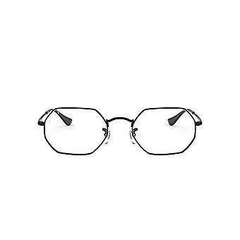 Ray-Ban RX6456 Reading Glasses, Black, 53 Unisex-Adult
