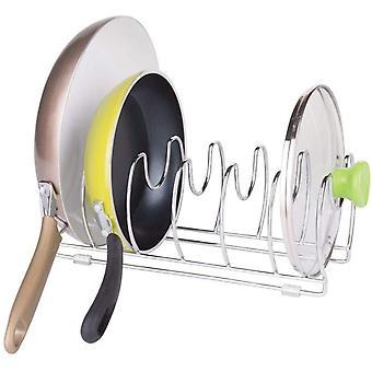 FengChun Pfannenhalter idealer Topfdeckelhalter vielseitiger Geschirrständer