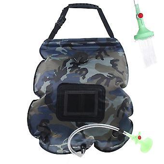Solar shower bag portable camping bath water bag 20l op04