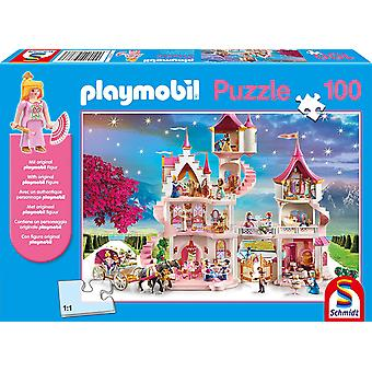 Playmobil: Princess Castle Puzzle & Play - 100 Pieces (Includes One Figure)