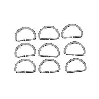 Ring Metal pracka popruh batoh batoh diely kožené remienok