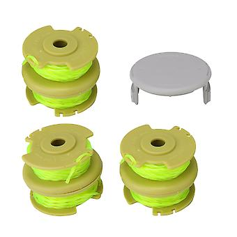 7Pcs AC80RL3 Spools and Cap Combo Set String Trimmers Replacement Spool