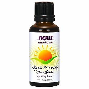 Now Foods Good Morning Sunshine Essential Oil Blend, 1 Oz