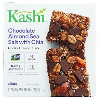 Kashi Bar Chocolat Amande et Sel de Mer avec, 7,4 Oz