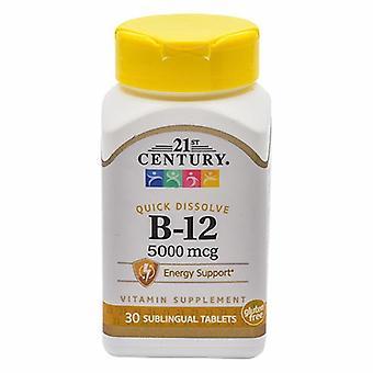 21st Century Vitamin C, 5000mcg, 30 Tabs
