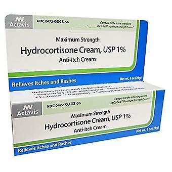 Actavis Hydrocortisone 1%, 1 Oz